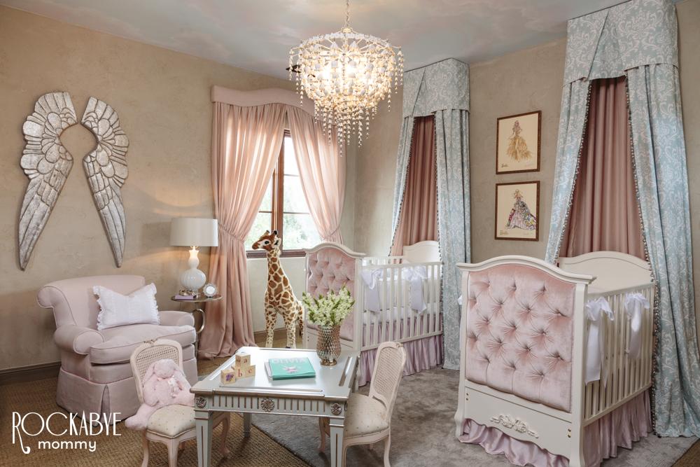 Girls Pink Bedroom Wallpaper Baby Room Trends Project Nursery