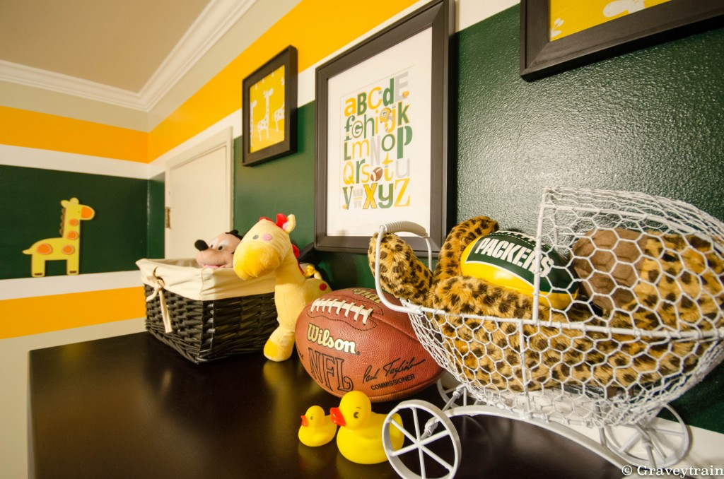 Wallpaper Ideas For Baby Girl Nursery Jacob S Green Bay Packers Nursery Project Nursery
