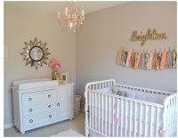 Leighton Kate's Pink and Gold Nursery