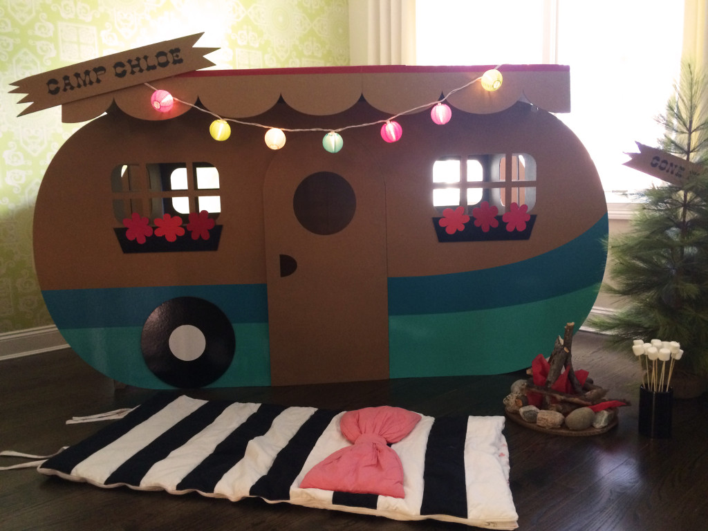Indoor Camping Birthday Party Project Nursery