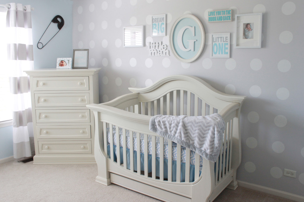 Readers39 Favorite Blue And Gray Boy39s Nursery Project