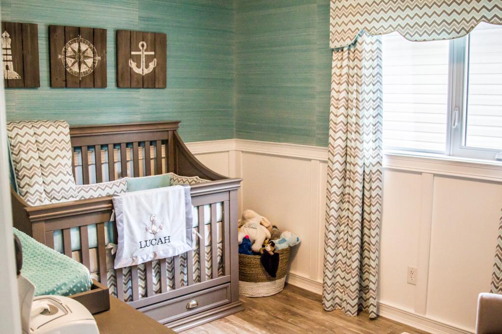 Lucah39s Coastal Inspired Nursery Project Nursery