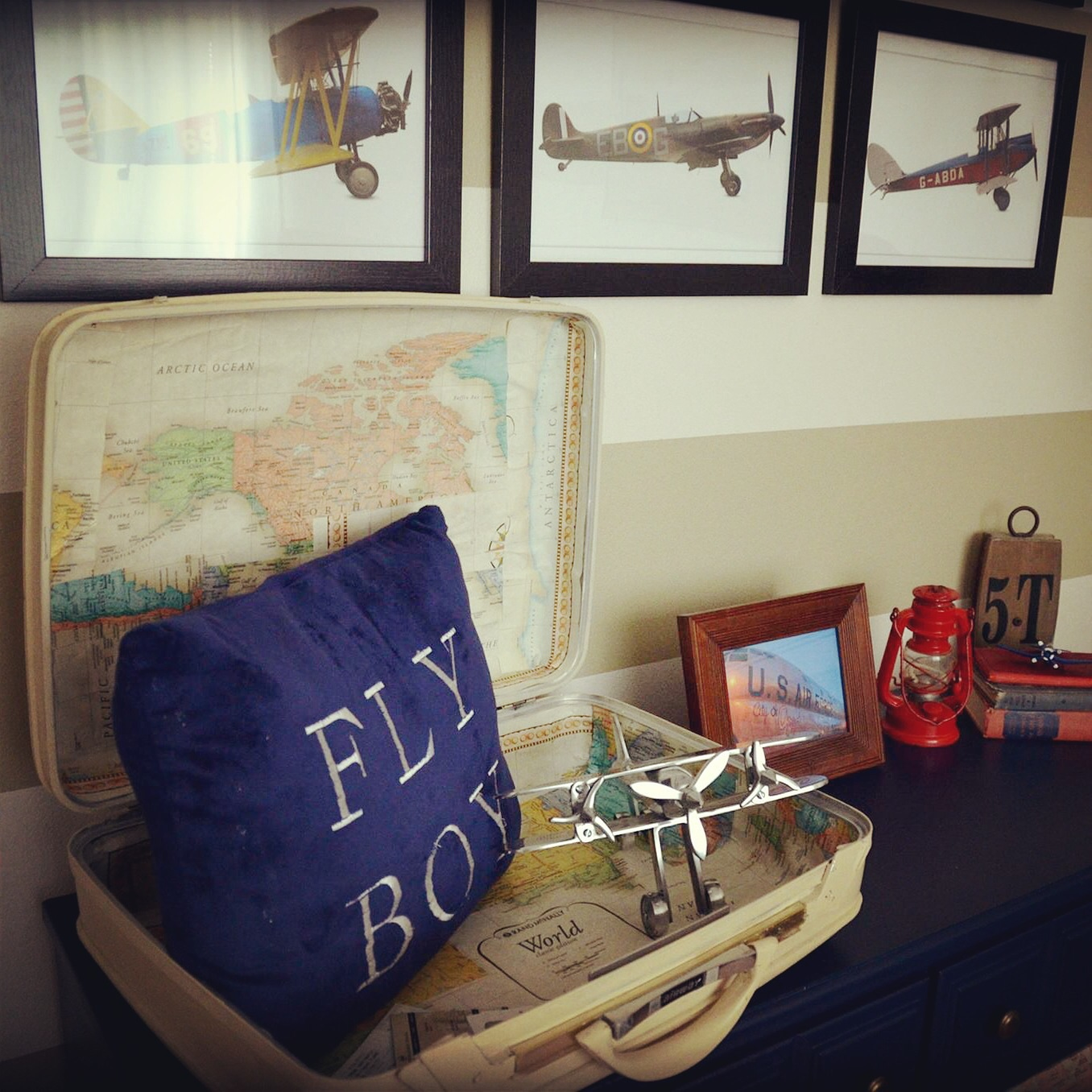 Airplane Bedrooms Aviation Themed Nursery Project Nursery