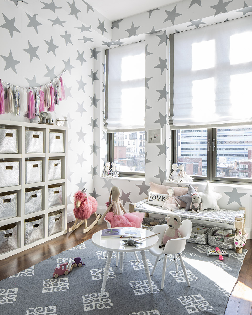 Alfombras Foam Hermione's Lucky Star Playroom - Project Nursery