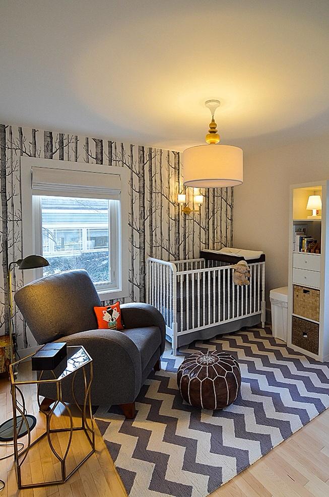 Wallpaper Ideas For Baby Girl Nursery Woodland Nursery Ideas Project Nursery