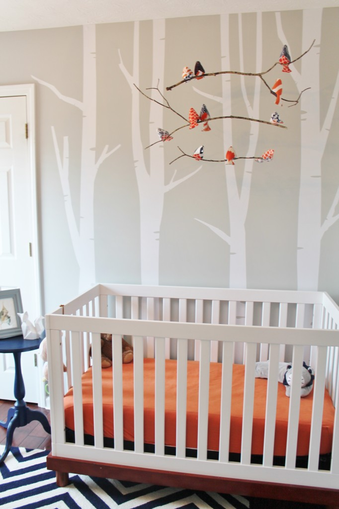 Artsy Wallpaper Modern Girl Woodland Nursery Ideas Project Nursery