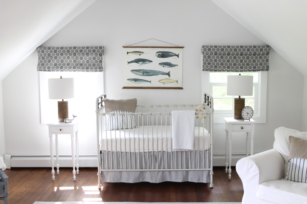 Wallpaper Ideas For Baby Girl Nursery Gallery Roundup Nautical Nurseries Project Nursery