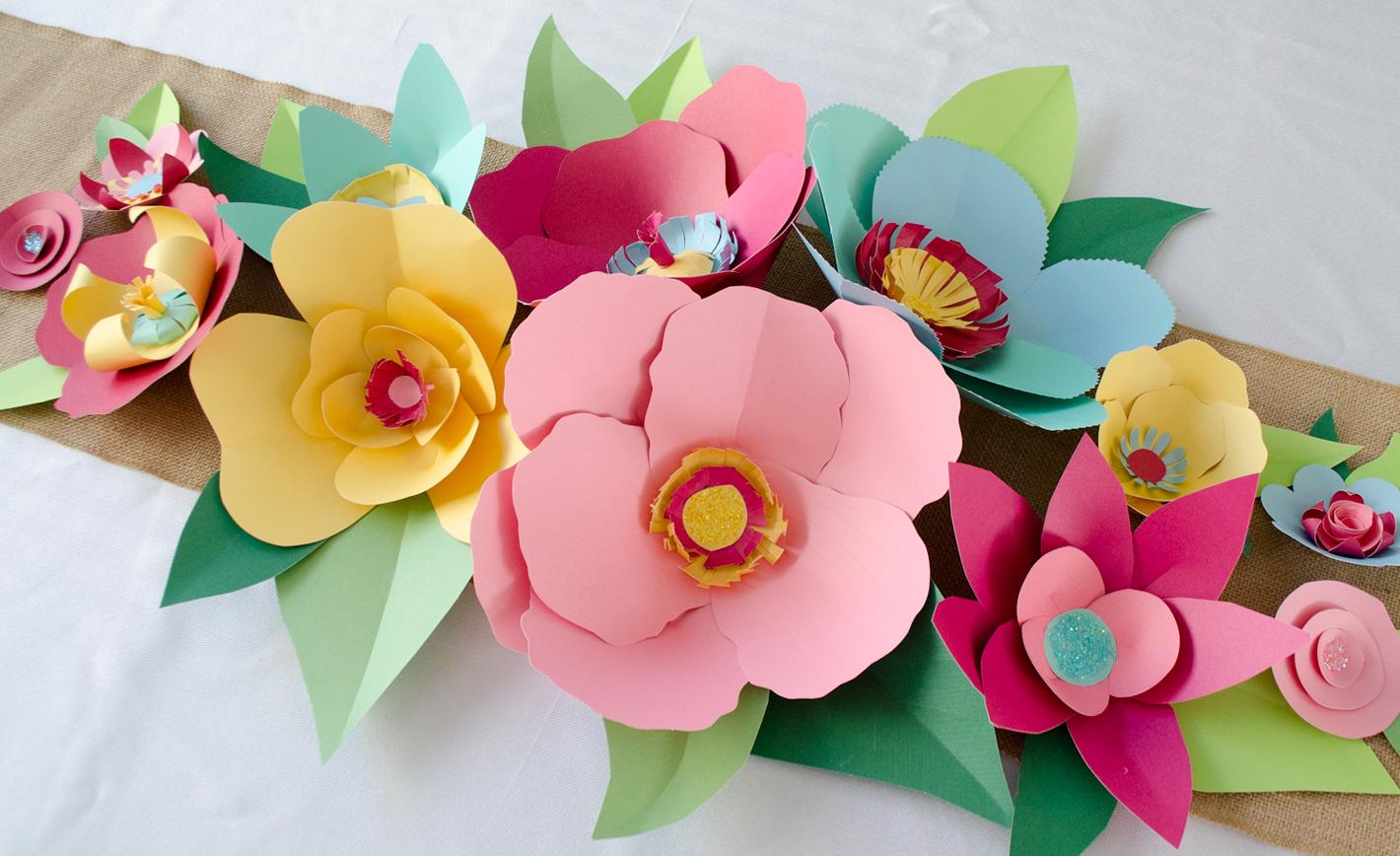 Paper Flower Decoration Ideas Elitflat
