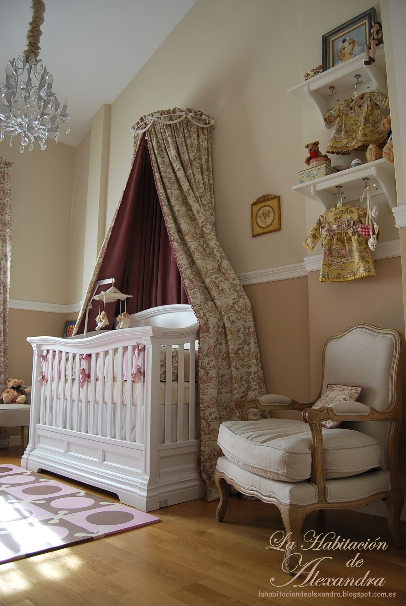 Decorar Habitacion Niñas Alexandra's Classic And Shabby Chic Nursery - Project Nursery