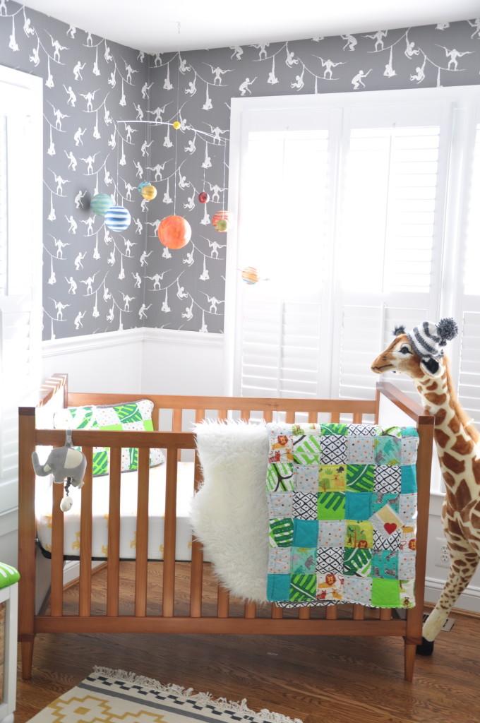Girl Baby Shower Wallpaper Modern Safari Gender Neutral Nursery Project Nursery