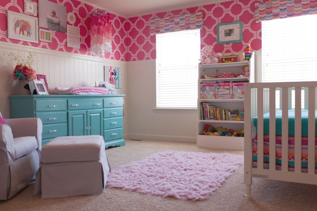 Wallpaper Ideas For Baby Girl Nursery Rooms And Parties We Love This Week Project Nursery