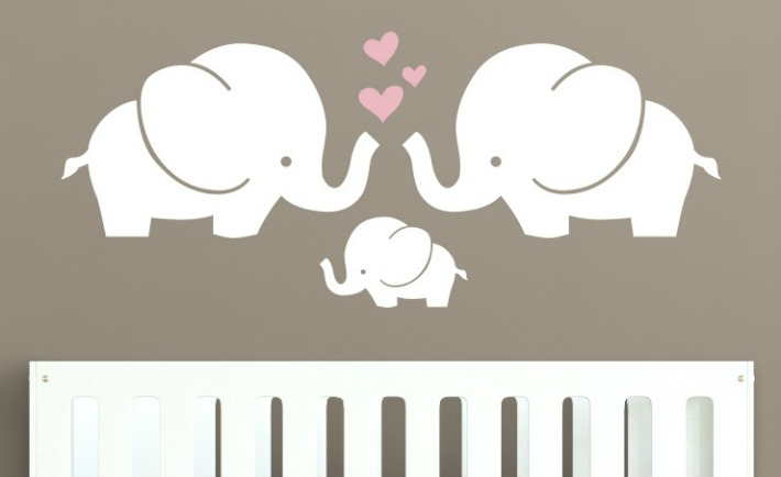 Wallpaper Ideas For Baby Girl Nursery These Guys Will Be Your Decal Bffs Project Nursery