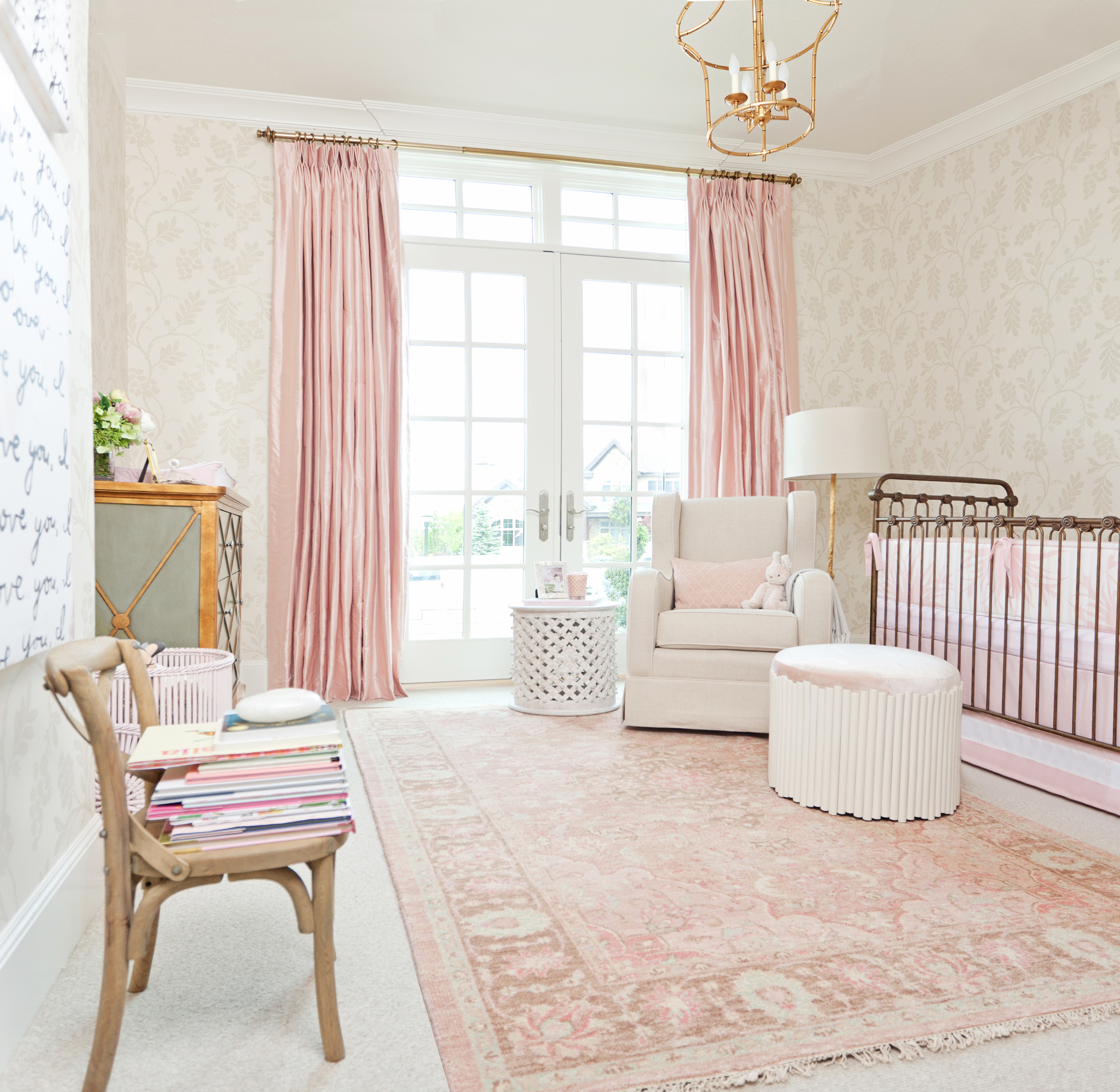 Pink And White Nursery Ideas A Pink Nursery For Pink Peonies Project Nursery