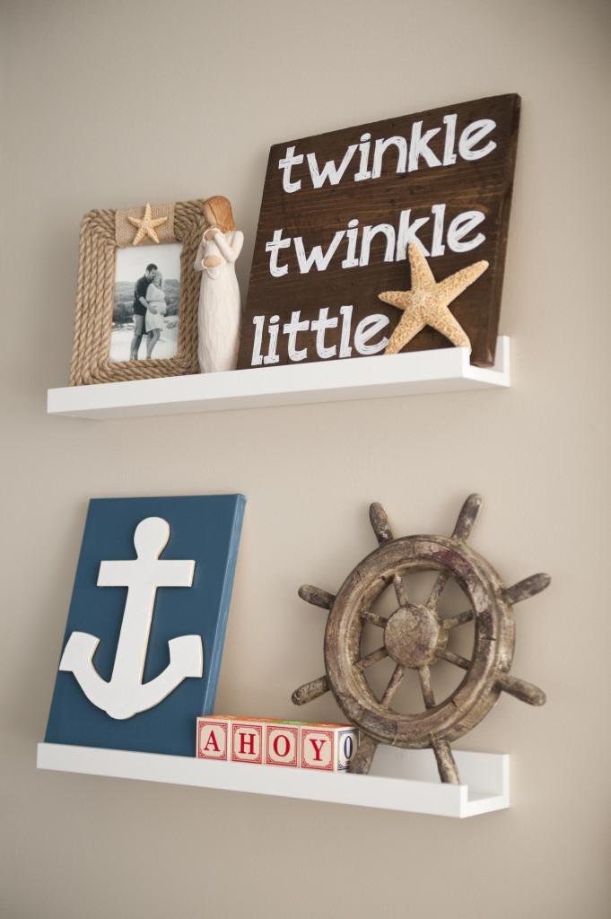 Nautical nursery decor project nursery