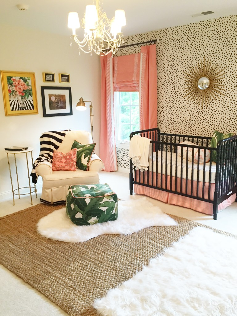 Ikea Glider Edie's Palm Beach Inspired Nursery - Project Nursery