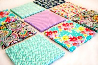 DIY Fabric Wall Art - Project Nursery
