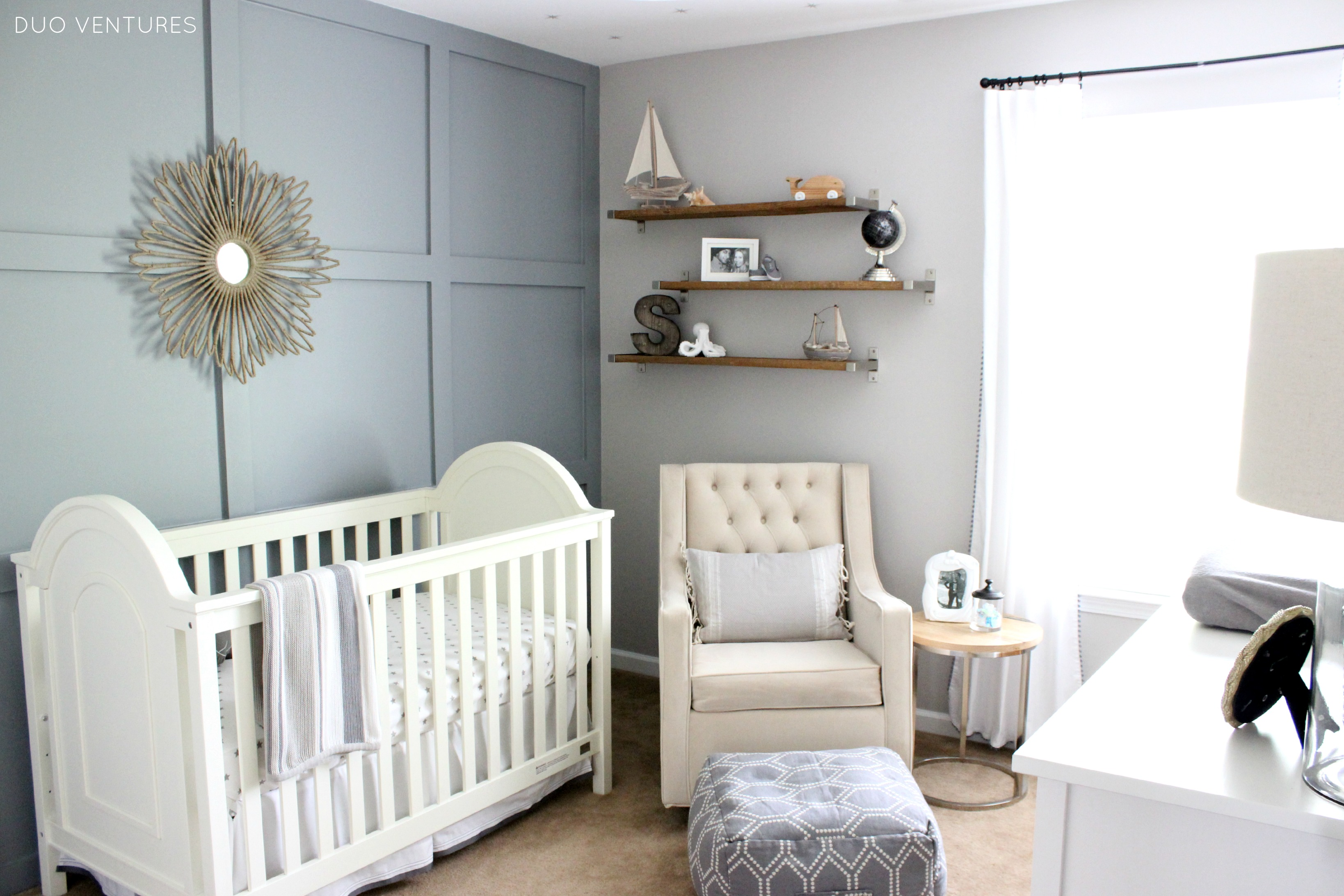 Baby Rooms Hamptons Inspired Coastal Nursery Project Nursery