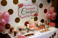 Sweet Carolyne's 1st Birthday Party - Project Nursery