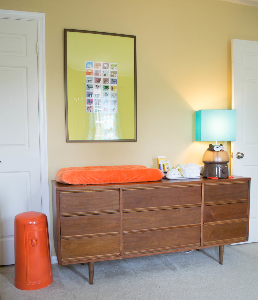 Baby Changing Table Dresser Mid-century Modern Nursery - Budget-friendly - Project Nursery