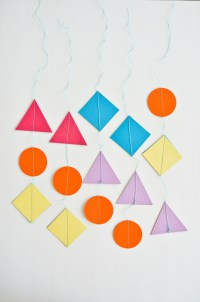 DIY: Colorful Geometric Baby Mobile - Project Nursery
