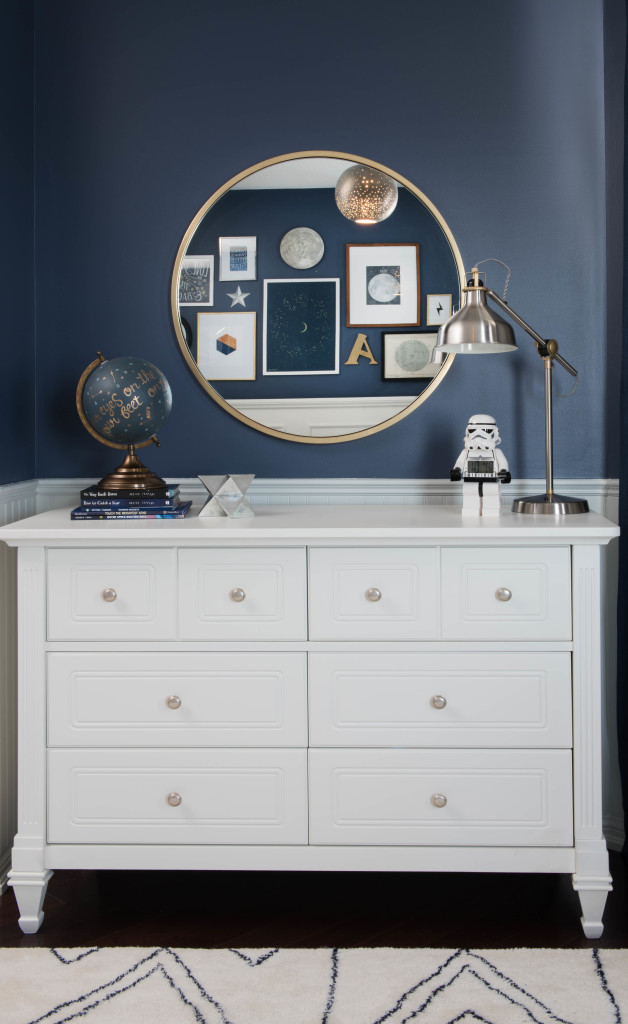 Navy Grey Bedroom Ideas Celestial Inspired Boys Room - Project Nursery