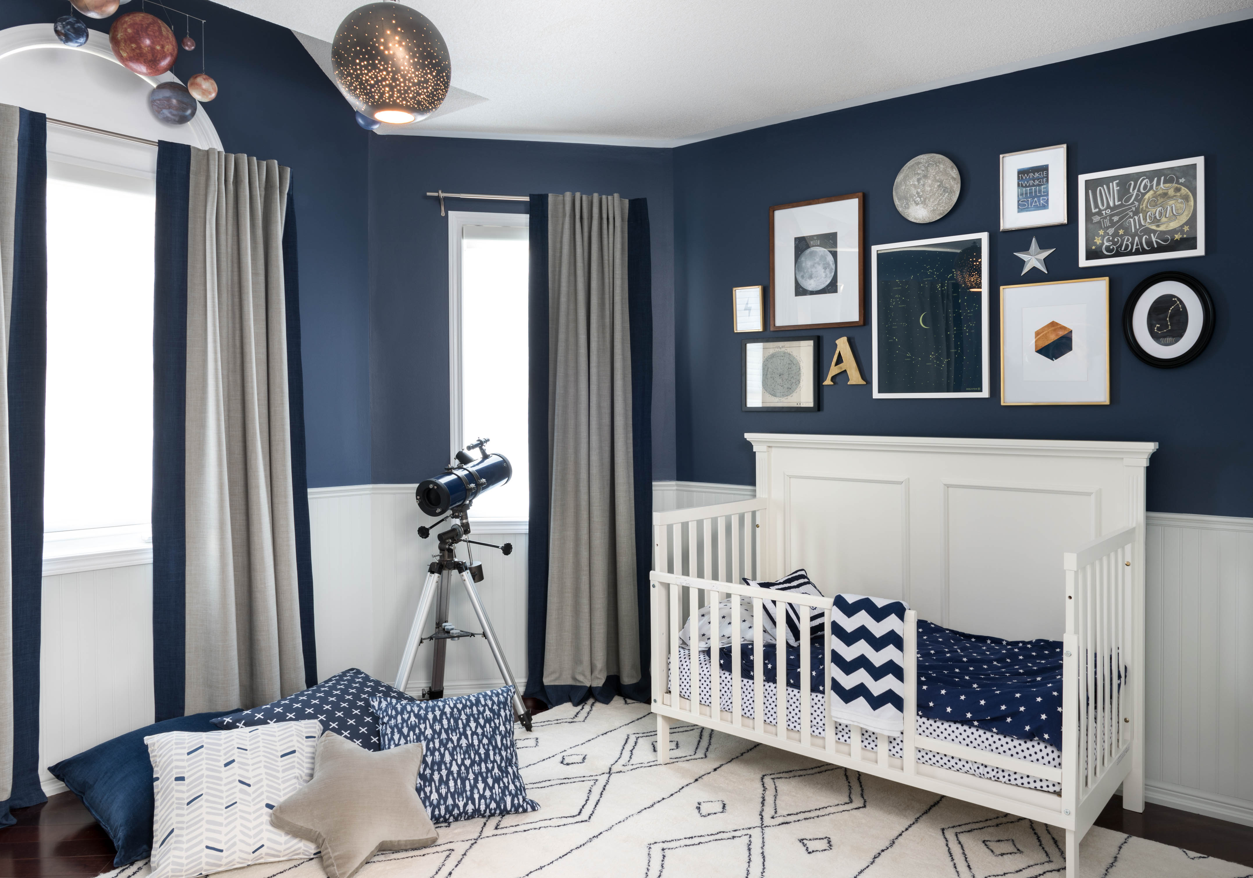 Baby Blue Bedroom Ideas Celestial Inspired Boys Room Project Nursery