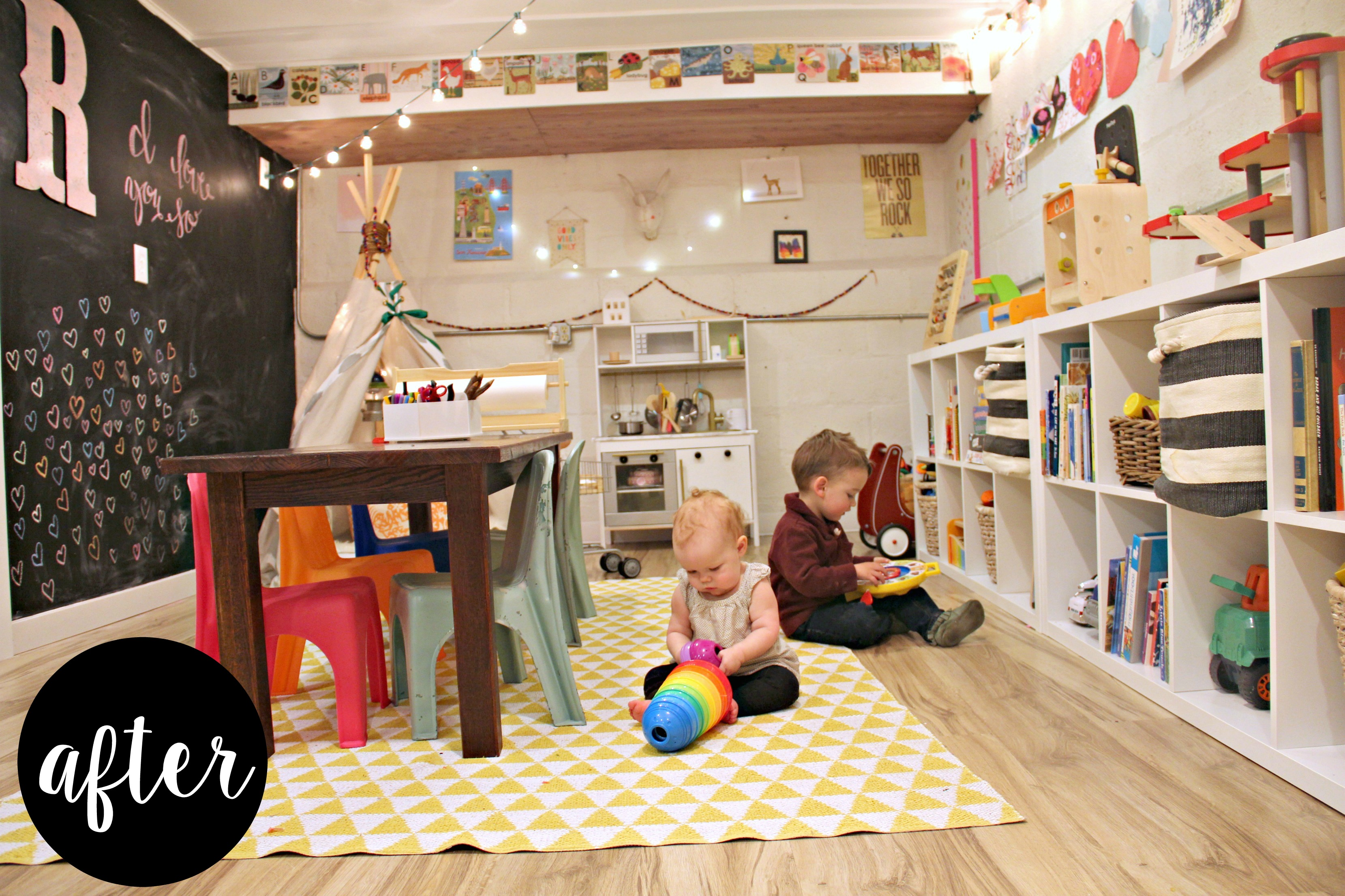 Basement Ideas For Kids A Whimsical Basement Playroom Project Nursery
