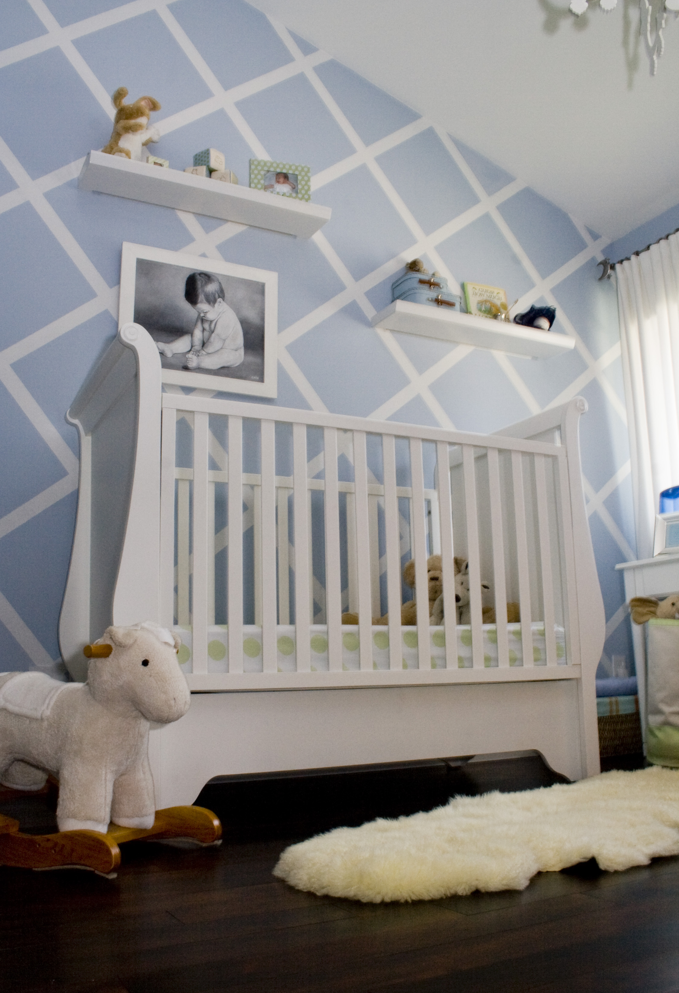 Baby Boy Room Designs How To Paint Wall Stripes