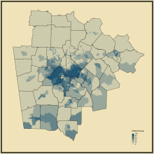 11. Black or African American Alone in Atlanta--Athens-Clarke County--Sandy Springs, GA