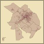 8. Population Density in Philadelphia-Reading-Camden, PA-NJ-DE-MD
