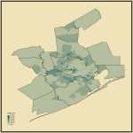 9. Median Income in Houston-The Woodlands, TX