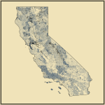 Streams and Waterbodies in California