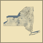 Streams and Waterbodies in New York