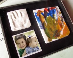 Handprint craft keepsake