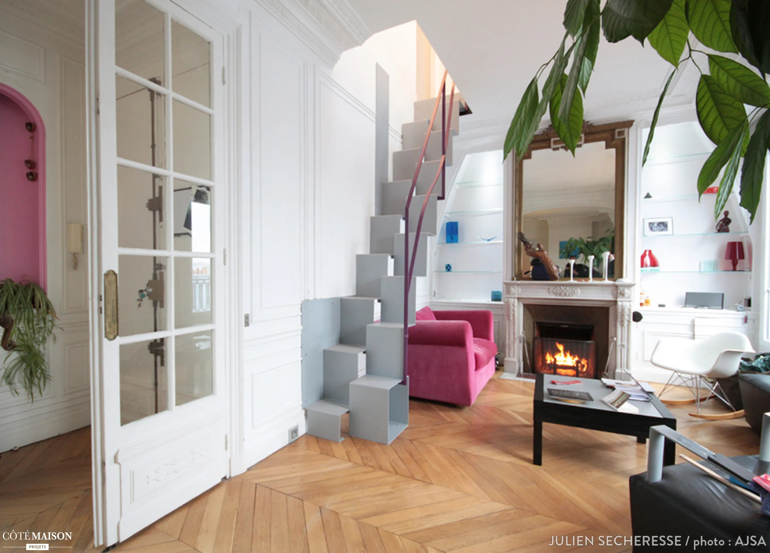 Architecte Paris 10 Extension D 039un Appartement Haussmannien Atelier Julien