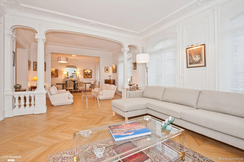 Décoration Appartement Haussmannien Contemporain | Aménagement D ...