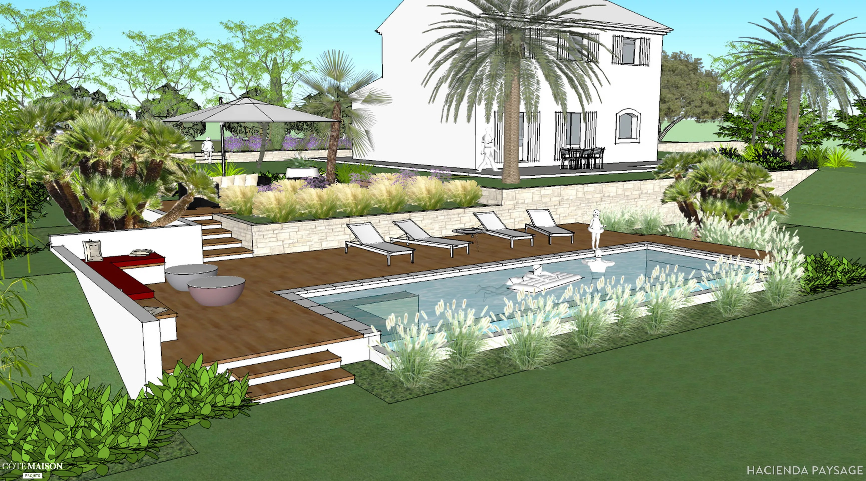 Amenagement Jardin Exterieur Mediterraneen Amenagement Jardin Mediterraneen Amenagement Jardin