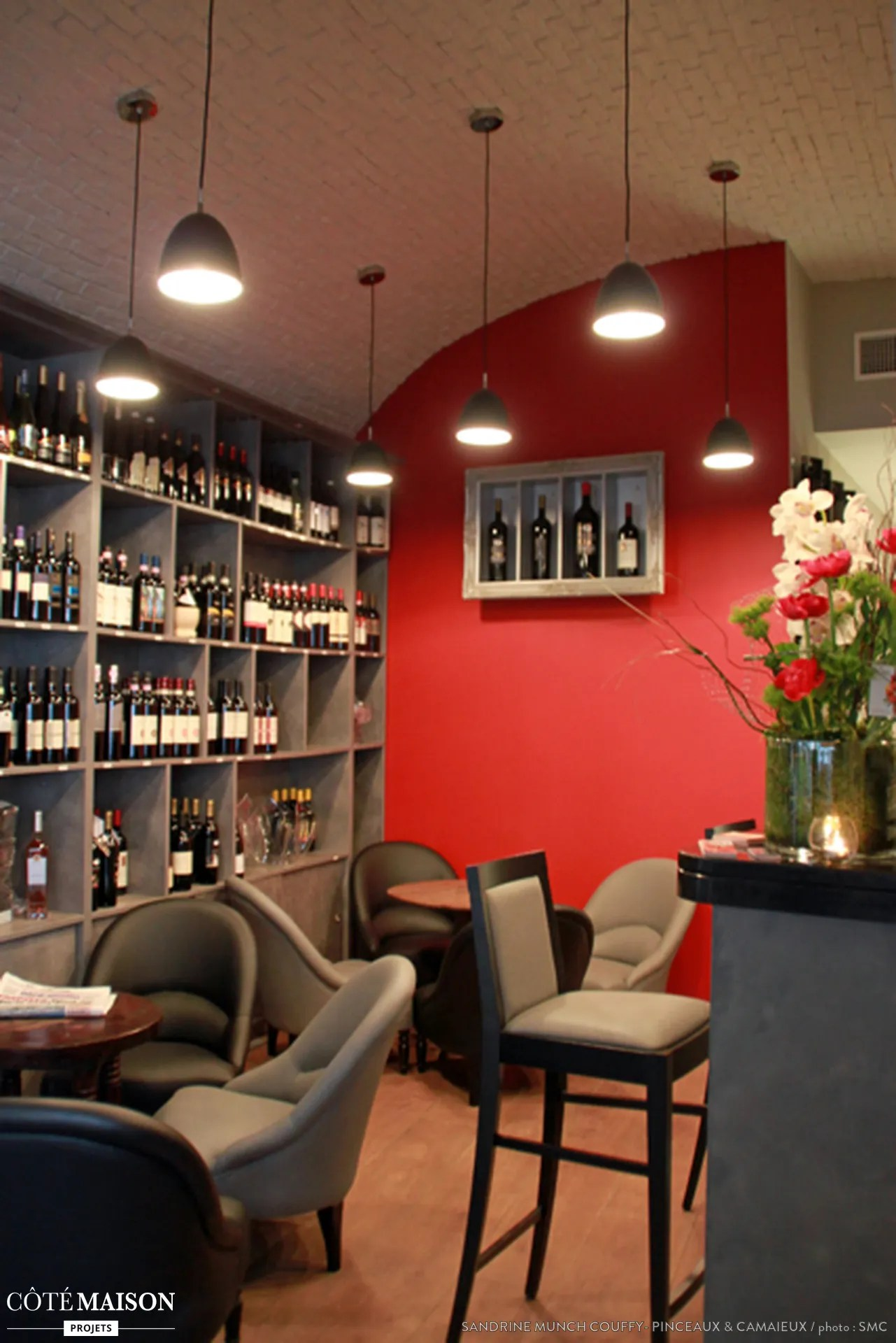 Decoration Pour Bar Maison Conception Et Décoration D 39un Bar à Vin Antibes Sandrine