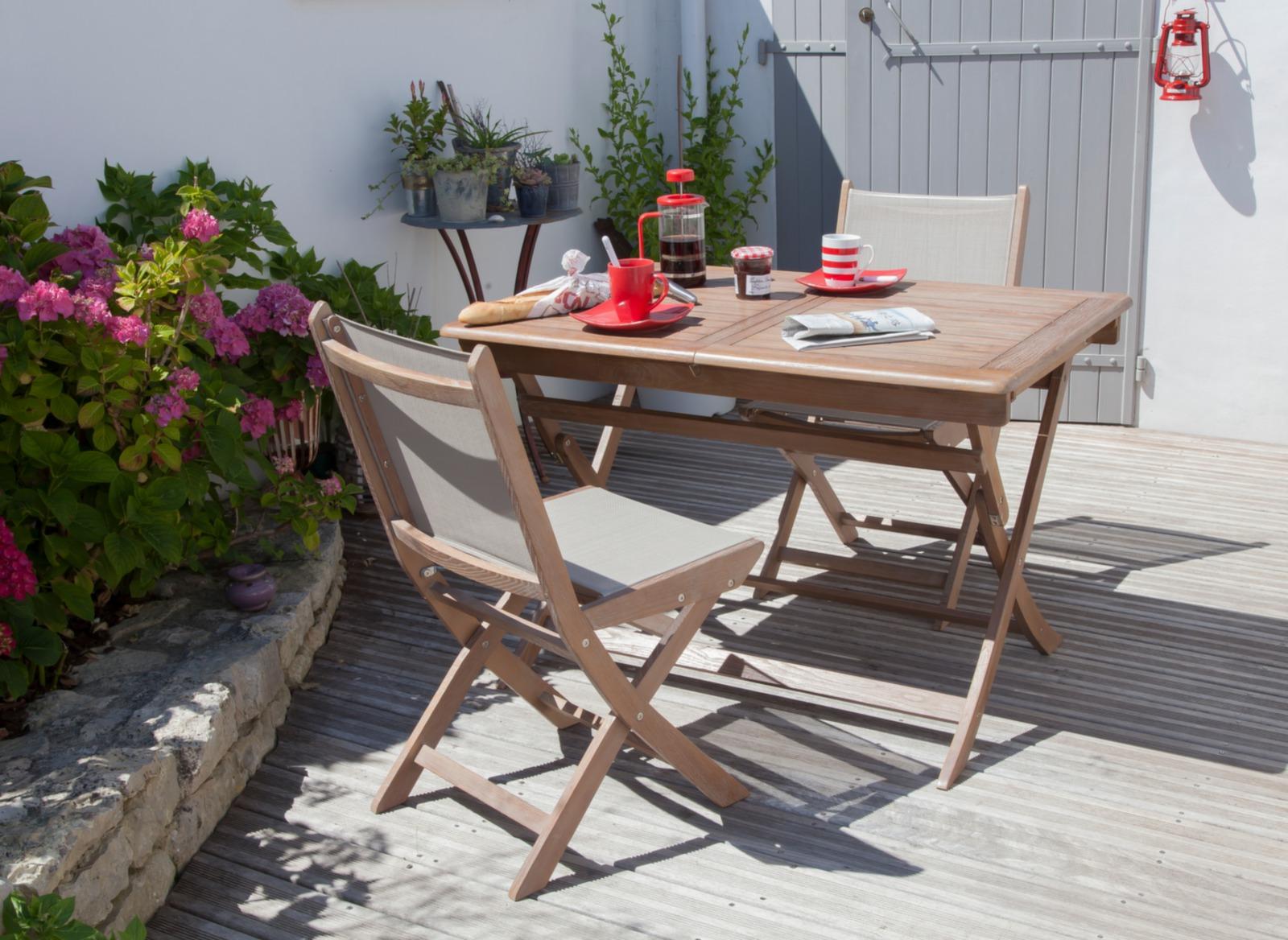 Salon De Jardin En Robinier | Fabricant Chaises Belgique Fauteuil ...