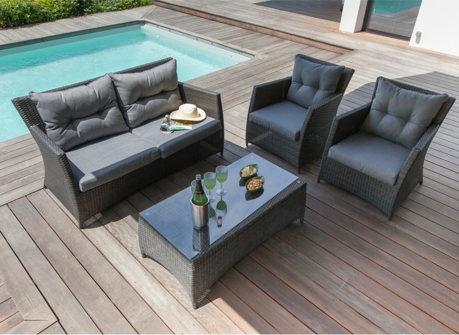Mobilier Jardin Resine Anti Insectes