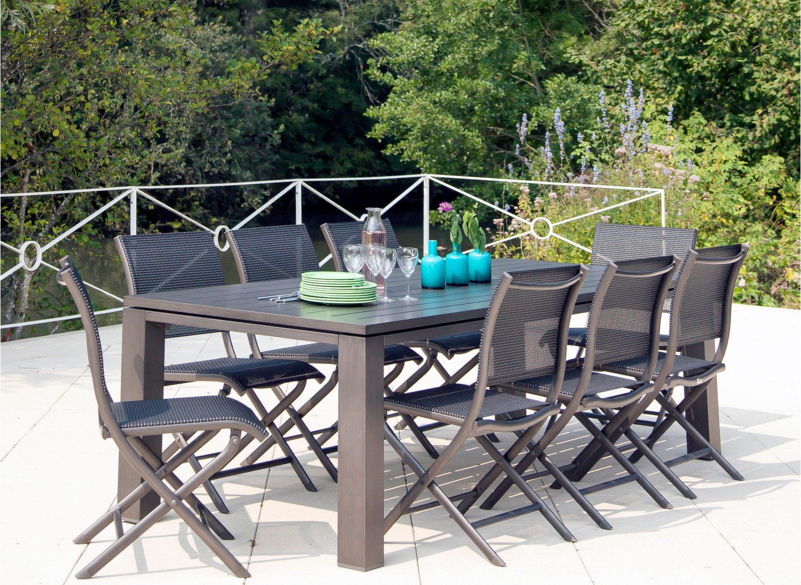 Table 180 Cm Table Aluminium Table Latino 180cm Table De Jardin