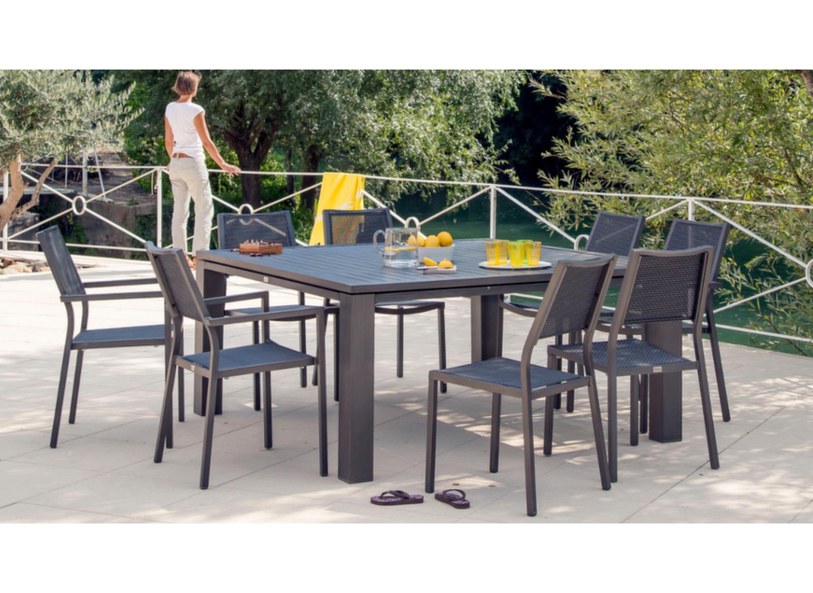 Salon De Jardin Oceo | Table Et Chaise Exterieur Luxe Table Repas ...