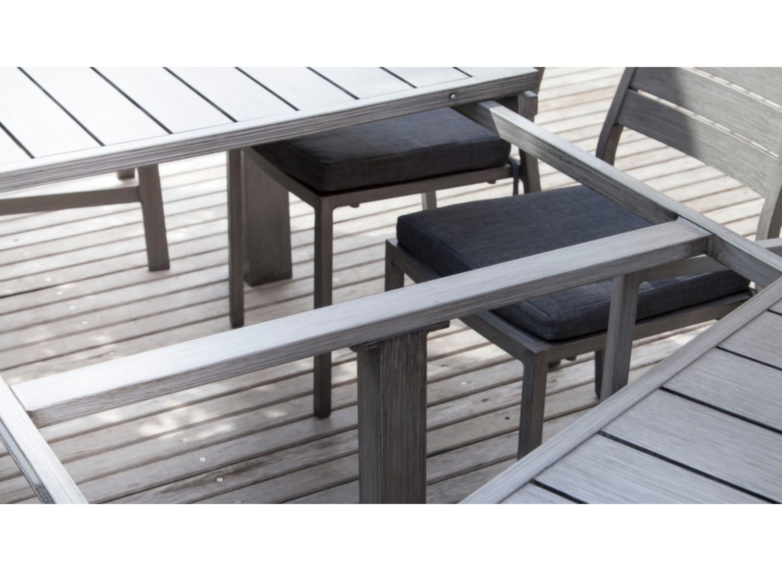 Salon De Jardin Sofia - Table Avec Allonge Et 6 Fauteuils | Table De ...