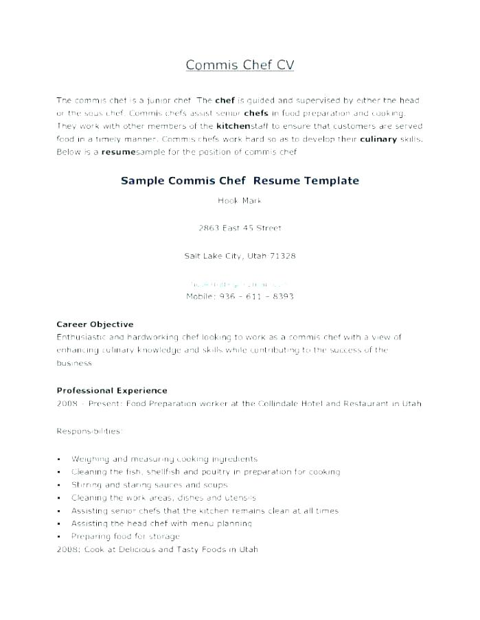 culinary cover letter examples \u2013 promisedesign - sous chef cover letter
