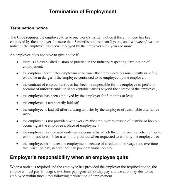 Termination Letter Templates Lease Termination Letter Templates Free - how to write a termination letter to an employer