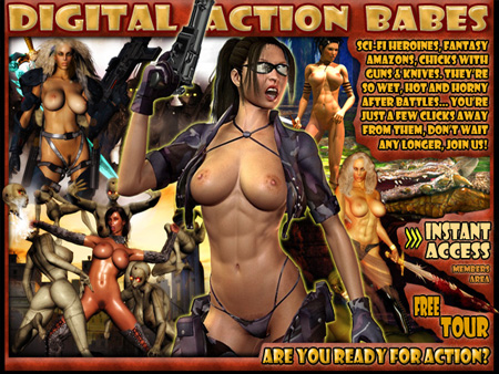 sci fi fantasy babes