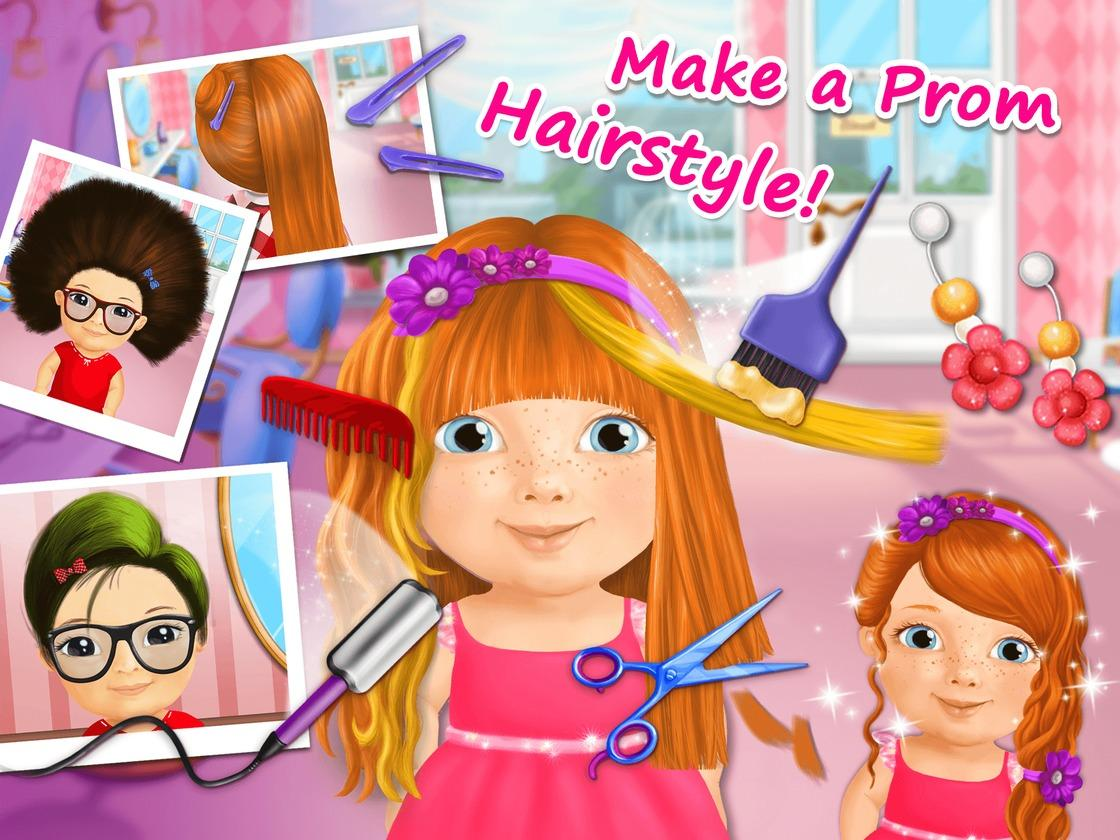 Game Beauty Salon Sweet Baby Girl Beauty Salon 2 Game Created With Tutotoons