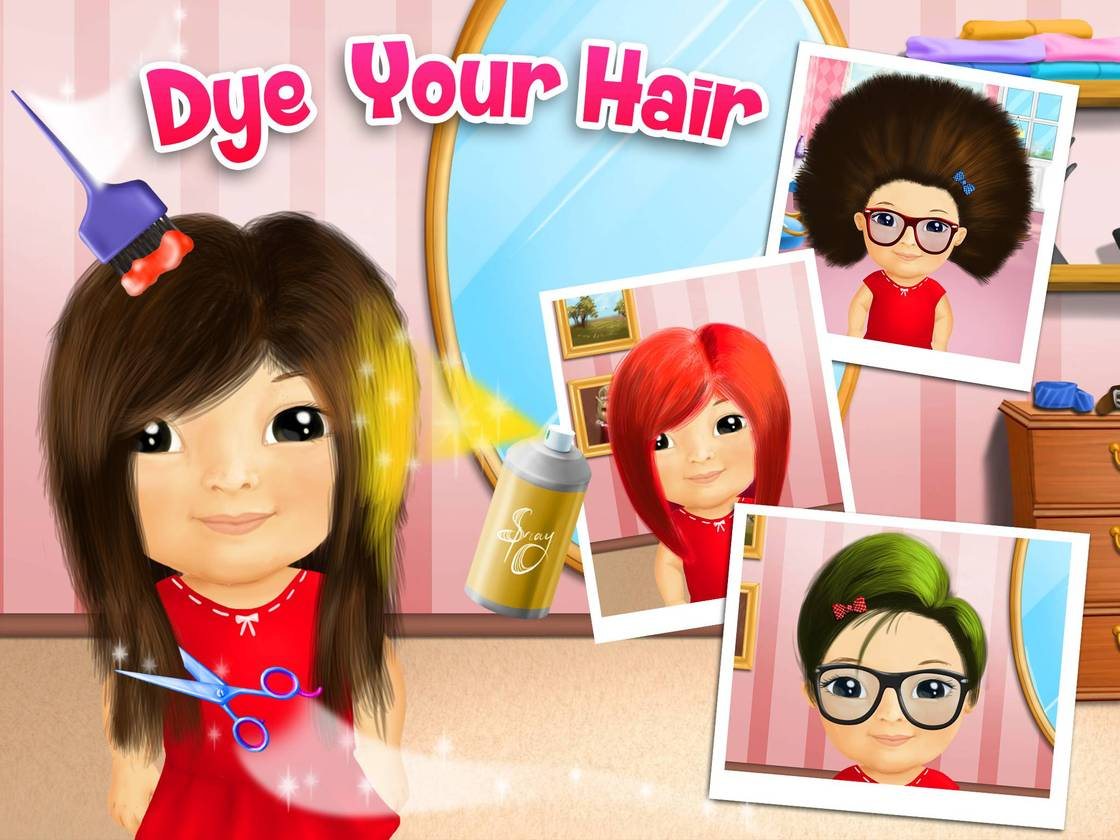 Game Beauty Salon Sweet Baby Girl Beauty Salon Game Created With Tutotoons