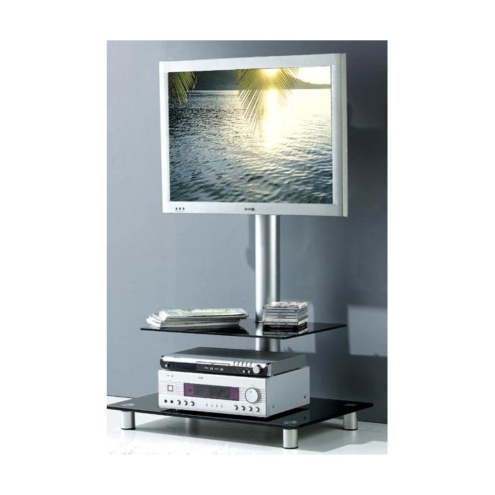 Support Meuble Tv Meuble Support Tv Verre - Promodiscountmeubles: Magasin En