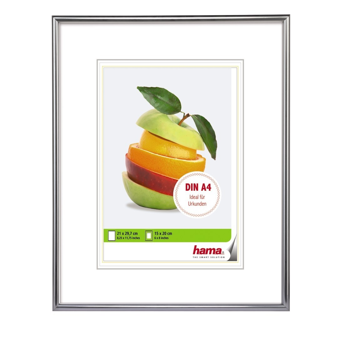A4 Bilderrahmen Picture Frame Silver For Din A4 Formats Basf Coatings Promoshop